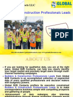 Builders & Construction Professionals Leads
