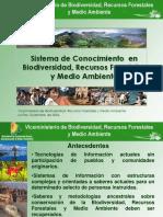 Sistema de Conocimiento  en Biodiversidad, Recursos Forestales y Medio Ambiente