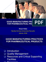 Gmp for Pharm Product