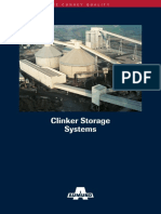 Clinker Storage Systems 131025