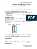Práctica 14 - Reactor Tanque Agitado