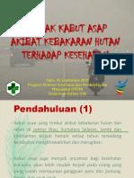 Dampak kabut asap kebakaran hutan terhadap kesehatan.pptx