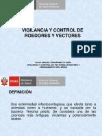 vigilancia y control de roedores