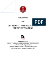 Gst Practitioner Advanced