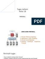 Tugas Jarkom Firewall