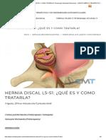 Hernia Discal l5-s1_ ¿Qué Es y Como Tratarla_ Fisioterapia Osteopatía Barcelona - Centro Médico Terapéutico
