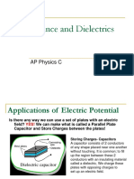 04AP Physics C - Capacitance and Dielectrics