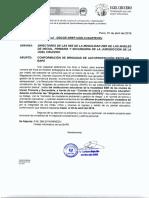 Oficio Conformacion de Brigadas de Autoproteccion Escolar Bape