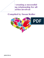 creating a successful caregiving relationship for all parties involved booklet
