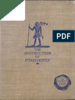 The Instruction of Ptah-Hotep and the Instruction of Ke'Gemni by Kagemna et al.