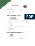 Test Expressions Idiomatiques