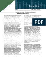 State Tax Incentives versus Premium Assistance