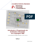 Introdução à programação de autómatos industriais em linguagem FBD