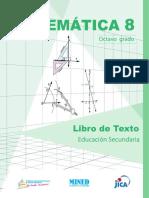 Matemática 08º Grado LTES-NICA- Mined, Unan-Managua, Unan-León - Jica 1ra. Ed. 2019.pdf