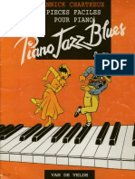 Piano Jazz Blues Annick Chartreux. Pieces Faciles pour Piano