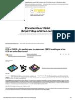 CCD o CMOS_ ¿Es posible que los sensores CMOS sustituyan a los CCD en todos los casos_ - [R]evolución artificial