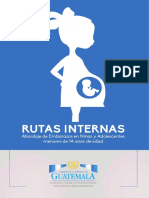Abordaje del GObierno de Guatemala para niñas embarazadas.