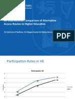 una comparación internacional de la educación