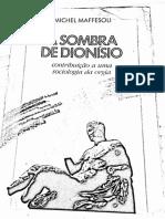Maffesoli - A Sombra de Dionísio.pdf