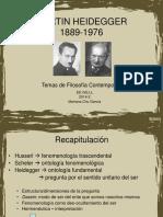 Heidegger 2014-2 (Continuación)