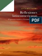 Luca Belcastro Reflexiones Latinoamericanas
