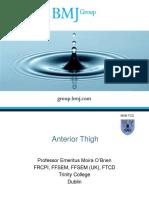Anterior Thigh BMJ