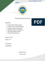 6. Informe de Incorporacón a La Empresa