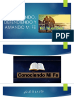 CONOCIENDO, DEFENDIENDO Y AMANDO MI FE.pptx