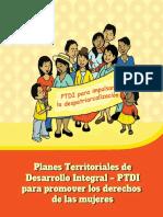 Cartilla PTDI Mujeres