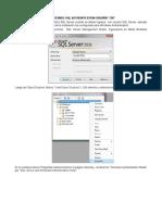 Habilitando SQL Authentication e o Usuário