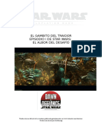 Gambito del traidor - Star Wars.doc