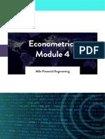 WQU Econometrics Module 2 Compiled Content