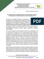 Orientaciones Técnico Administrativas Para Operacionalizar El Servicio de Orientación en El Ámbito Regional y de Centro Educativo_2019