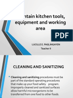 LEsson 2 Sanitizing Cleaning.ppt New