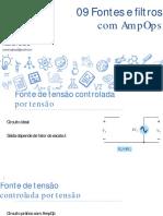 Eletrônica Analógica - 09 Fontes e Filtros Com AmpOps