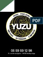 Brochure Yuzu