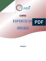 CAEG - Experto en Arcgis