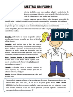 Insignias y Uniforme rama Pimpollitos- AGA.