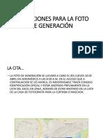 INDICACIONES PARA LA FOTO DE GENERACIÓN.pptx