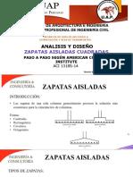 2 Analisis Ydiseño de Zapata Aislada Cuadradas