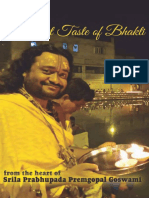 A Sweet Taste of Bhakti