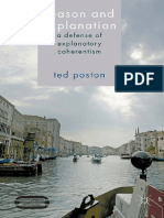 (Palgrave Innovations in Philosophy) Ted Poston (auth.) - Reason and Explanation_ A Defense of Explanatory Coherentism-Palgrave Macmillan UK (2014).pdf