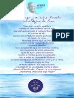 P. Dávila (El Desapego y Nuestro Derecho Como Hijos de Dios)