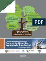 Estado de Derecho en Materia Ambiental