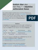Adjektive+mit+präpositionalem+Kasus