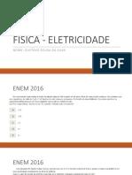 Fisica - Eletricidade -Enem