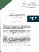 Leonor Villaceves Franco-Del cuerpo que importa Rastreando la nocion de cuerpo para Judith Butler