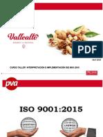 Curso Taller Interpretación e Implementación Iso 9001-2015