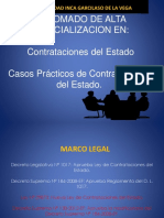 Casos Prácticos de Contrataciones Del Estado
