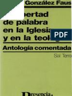 González Faus, J. I., La libertad en la iglesia y en la teología.pdf